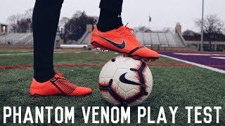 Training In The Nike Phantom Venom | Nike Phantom Venom Play Test and Review
