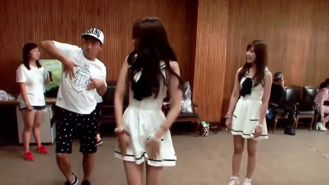 Running Man cast and idols' dance practice for ep 162