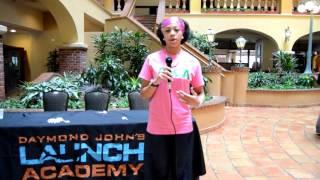 Interviews Jessikha Williams after the Daymond John Seminar