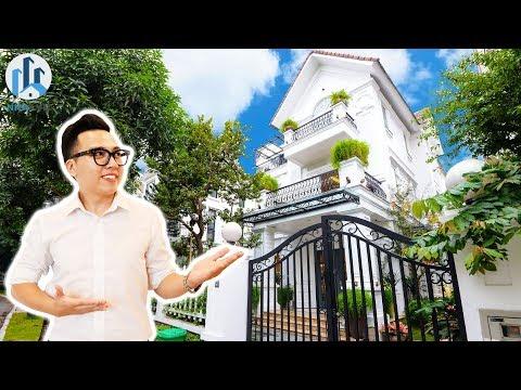 Khám Phá Biệt Thự 300m2 Sân Vườn Rộng & Thang Máy tại Vinhomes Riverside Long Biên – NhaF [4K]