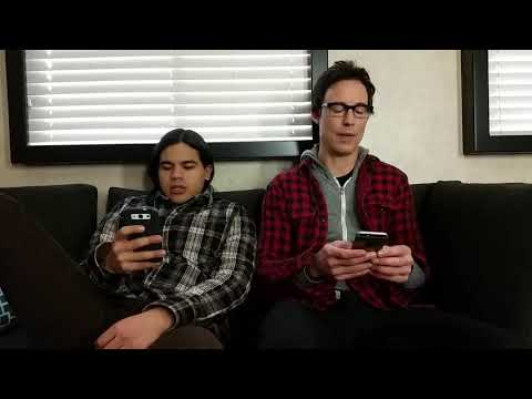Birthday wishes to Grant Gustin from Carlos Valdes and Tom Cavanagh
