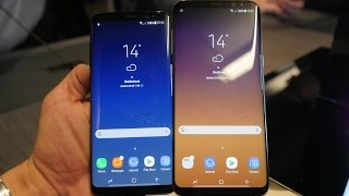 Samsung Galaxy S8 & S8+ hands-on [Greek]