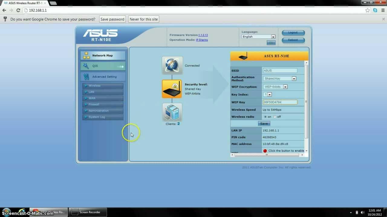 Configure ASUS N10 - YouTube