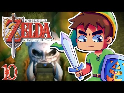 Zelda A Link to the Past #10 : PALAIS DES SQUELETTES !