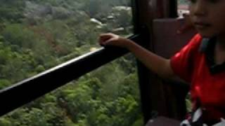 Cable car swing 360