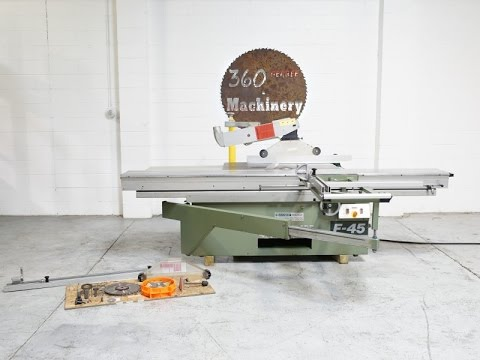 Altendorff altendorf start 45 panel saw, for industrial, rs 495000.