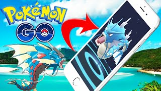 Pokemon Go FINDING HIGHEST CP GYARADOS Gym Battle | Pokemon Go In Real Life