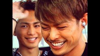 【三代目j soul brothers】ボーカル臣&隆二の2ショット画像集 登坂広臣...