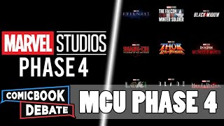 Marvel Phase 4 Slate Revealed | MCU X-Men & Fantastic 4| SDCC 2019 Discussion