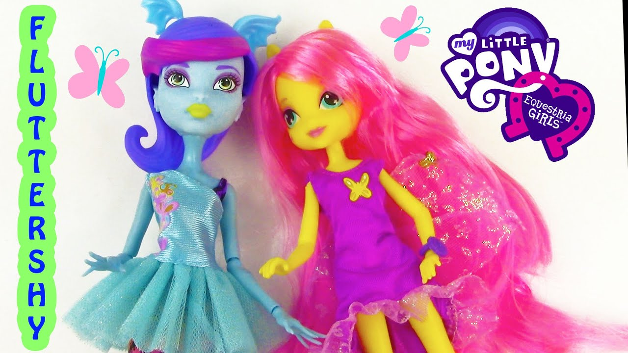 My little pony equestria girl dolls fluttershy - photo#54