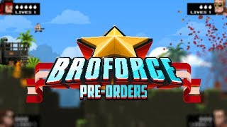 A Look at the Broforce Beta! ( 2D/Sidescrolling/Action/Platformer )