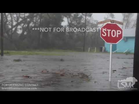 10-10-2018 Port St Joe, FL - Damage and Storm Surge