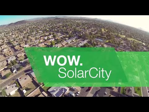 WOW. SolarCity - Affordable and Clean Energy for Your Home
