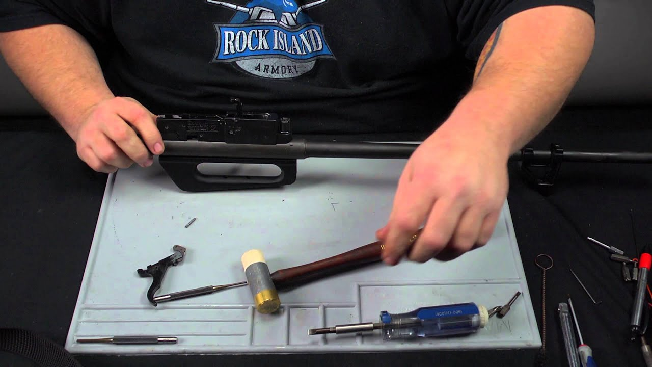 Rock Island Armory M1600 Disassembly