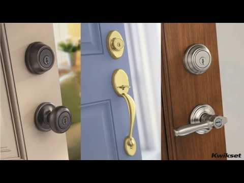 how to rekey a kwikset door knob lock spanish youtube. Black Bedroom Furniture Sets. Home Design Ideas