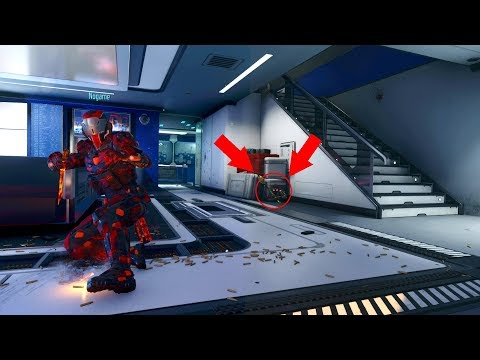 HOW DID I NOT SEE HIM IN THIS GLITCH SPOT INSIDE THE BOXES!! HIDE N' SEEK ON *BLACK OPS 3*