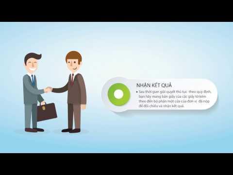 VNPT IGate - Hướng dẫn nộp hồ sơ online: Thủ tục thay đổi nội dung đăng ký kinh doanh