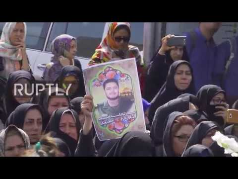 Iran: Hundreds Commemorate Officer Killed In TIFOR Airbase Attack