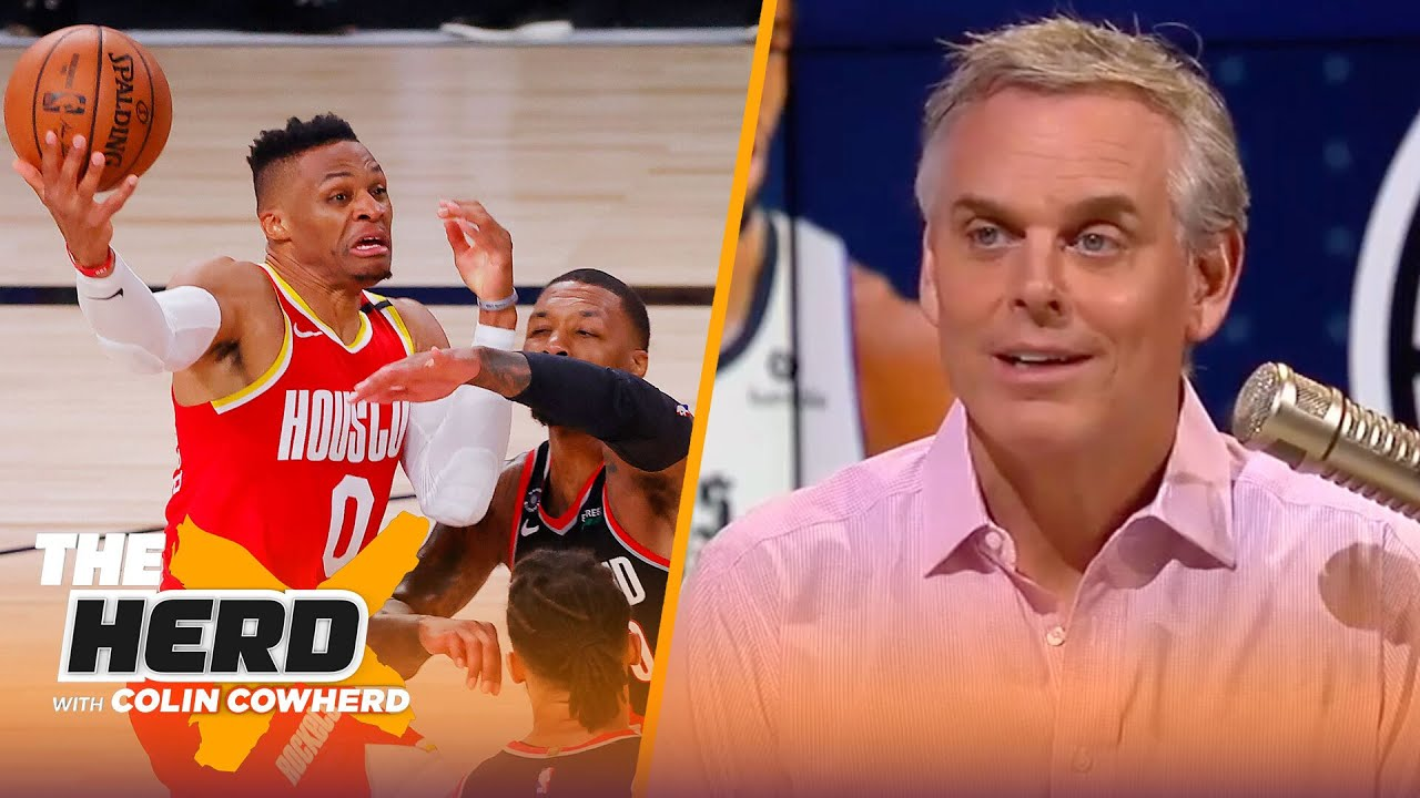 Lillard proves he's better than Westbrook, Clippers taking seeding games lightly — Colin   THE HERD