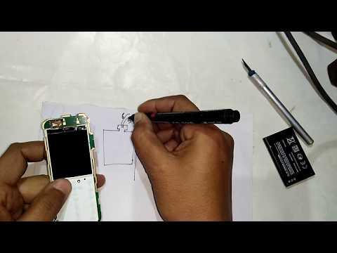 NOKIA 1035 LCD WHITE PROBLEM % SOLUTIN.
