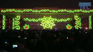 Маппинг шоу 1 год до Универсиады в Красноярске