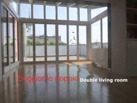 Attico corso sempione via filelfo attico di lusso a milano youtube
