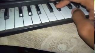 Arpa Pairi Ke Dhar Piano/Casio Tutorial ✔✔