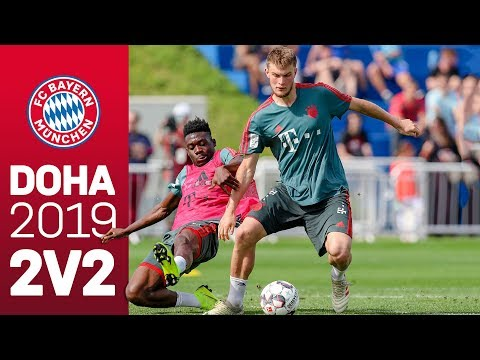 2 vs 2 Matches in Training | FC Bayern in Doha
