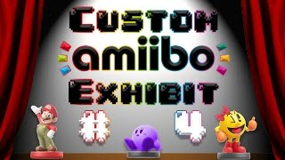 LED Pit, Demon Bowser, and MORE! | Custom Amiibo Exhibit #4