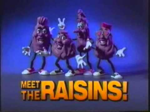 Meet the Raisins - I Heard It Through The Grapevine