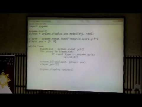 Image from PyConPh 2012 - Game Programming with Python and PyGame - Sony Valdez