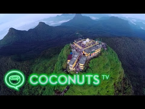 Summiting Adam's Peak in Sri Lanka | Coconuts TV