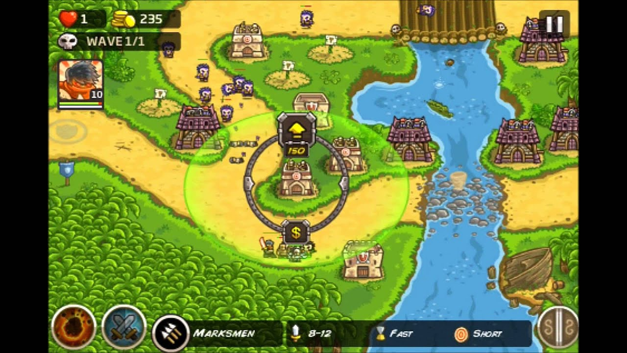 kingdom rush level 8