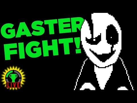 We FIGHT W.D. Gaster! - Undertale Fan Games