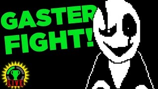 One of GTLive's most viewed videos: We FIGHT W.D. Gaster! - Undertale Fan Games