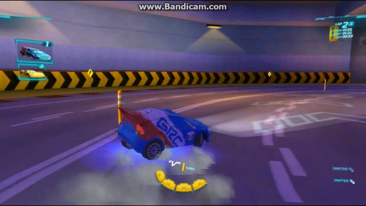 Cars 2 the Video Game - France Frequent Flyer - YouTube