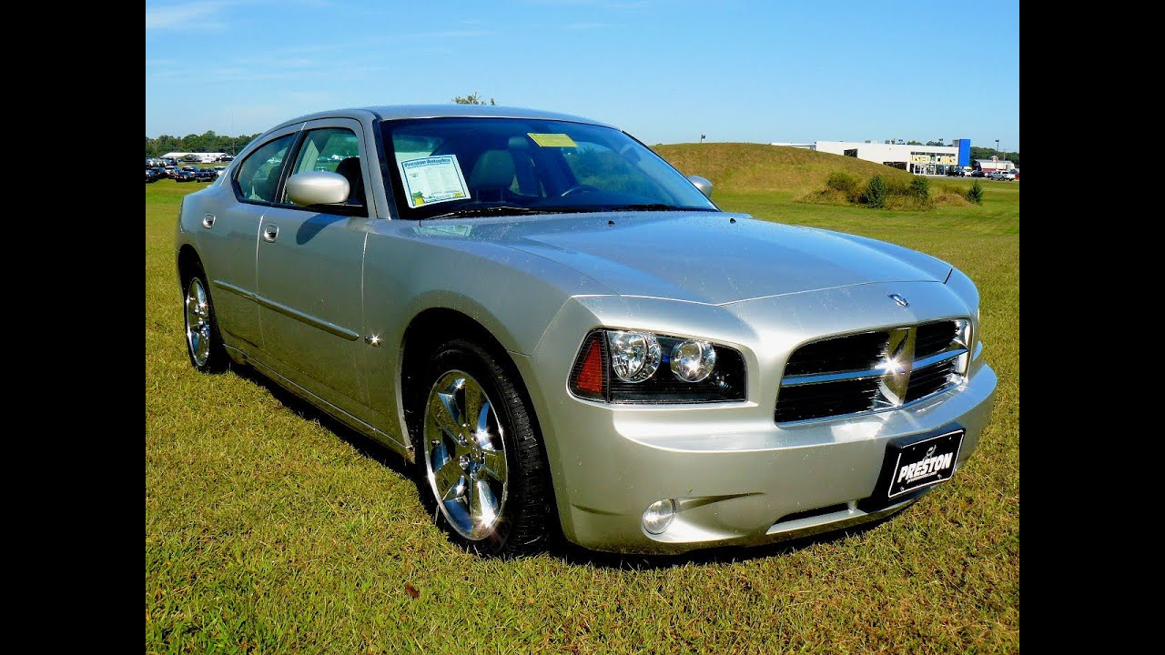 2007 Dodge Charger RT, Super low miles 5.7 Hemi V8 # F402088B - YouTube