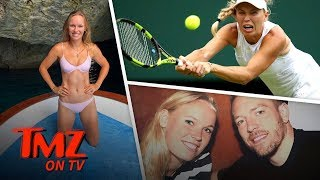 Caroline Wozniacki Hits Bday Bikini Pose After Wimbledon Loss | TMZ TV