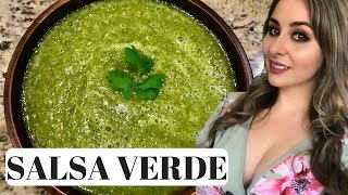 Mexican Salsa Verde (How To) | 3 Step Recipe