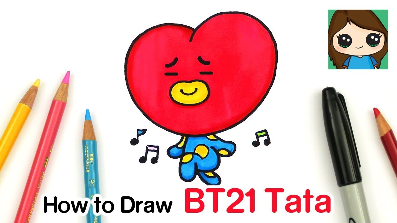 Bt21 Coloring Pages Coloring Pages Kids