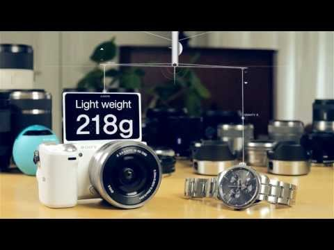 Sony NEX 5T Digital E-mount -  Concept Video