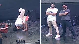 Vijay Devarakonda Superb Dance For ROWDY Theme Song |  Rowdy Brand Launch | Manastars