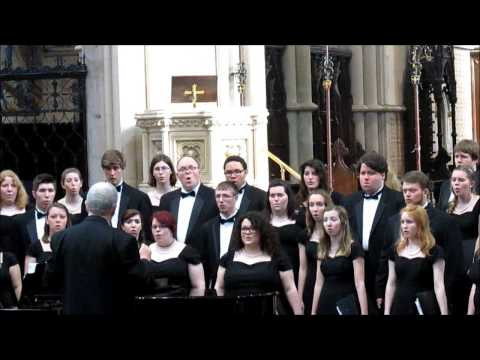 Ohio University Singers Part III Glasgow 1st March 2015