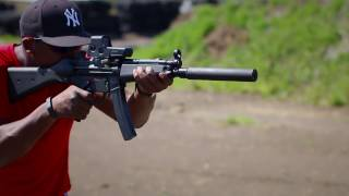 HK MP5 Full Auto & Suppressed Review
