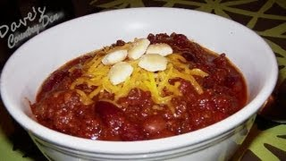 JTO #98 : EASY TAILGATE BEER CHILI