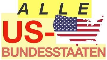 Alle US Bundesstaaten