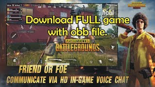 PUBG download on Android | HD gameplay and review | Apps Action