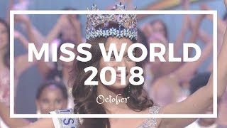 Miss World 2018 - October Predictions (1st)