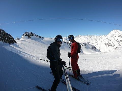 Stubai Glacier 2019 Skiing