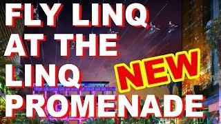 The Linq Promenade has a new 10 line Zipline that runs thru it and ...